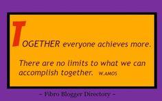 Fibro Blogger Directory: Spreading Fibro awareness for 63 weeks so far!