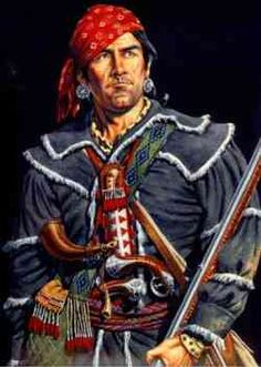 The American Revolution - (Simon Girty)Simon Girty (1741 – February 18, 1818) was an American colonial of Scots-Irish ancestry who served as a liaison between the British and their Native American allies during the American Revolution. He was portrayed as a villain in many early history texts of the United States.