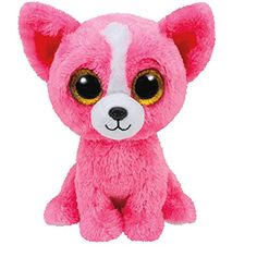 29840184fd0 SHOPPING LIST - Ty Beanie Boos - 2015 Pashun Pink Chihuahua With Glitter  Eyes - Small