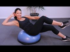 BOSU Cardio and Core Circuit - YouTube