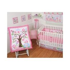 #Nursery #Crib #Sheets #Bedding Set #Baby Bumper #Shower Gift #Blanket #Blankets 9-Piece