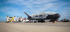 Air Force's top secret robotic spaceplane returned to Earth yesterday after 675 days in orbit. Landing at Vandenberg Air Force Base in California at AM Pacific Standard Time, this was. Nasa, Vandenberg Air Force Base, Secret Space Program, Les Kennedy, Atlas, Sonic Boom, Space And Astronomy, Us Military, Us Air Force