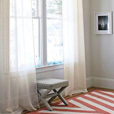 Ribbon Stripe Window Panel