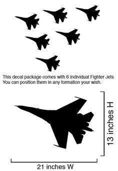 jet wall decal - Google Search