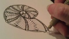 zentangle patterns step by step she shared the step outs and