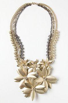 Casablanca Cluster Necklace