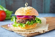 Need dinner fast? Don't have much in the house? Here is my lazy Friday dinner meal--quickie black bean burgers. I sometimes call these