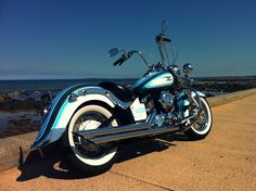 Yamaha Cruiser, Yamaha 650, Yamaha V Star, Harley Softail, Honda Shadow, Biker Chic, Easy Rider, Classic Bikes, Motorcycle Bike