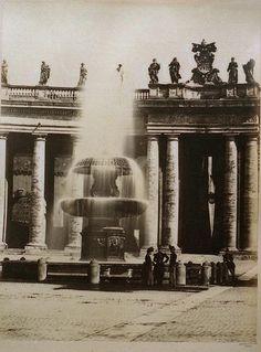 St. Peter's, Rome 1860-1865