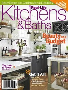 Attractive Kitchens And Baths Interior Design Magazine, Home Decorating Magazine,  Shelter Magazine, Architecture Magazine