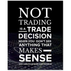 Trading Poster Quote Poster Binary Options Stocks Shares Picture Print Wall Art