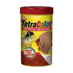 Tetra TetraColor Tropical Granules - 10.58 oz - ON SALE! http://www.saltwaterfish.com/product-tetra-tetracolor-tropical-granules-1058-oz