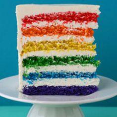 Martha Stewart's Rainbow Cake!