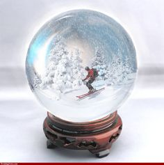 Skier in a Snow Globe Pics - High Resolution Photoshop Pictures ...