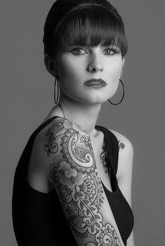 Não dá para parar de olhar para ela <3  Tattoo by Dan_DiMattia by Needles and Sins (formerly Needled), via Flickr