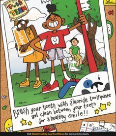 National Children's Dental Heatlh Month is in February