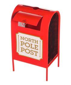 Another great find on #zulily! 'North Pole Post' Mailbox #zulilyfinds