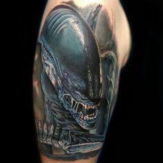 Xenomorph Tattoo by Bryan Merck