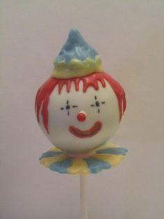 #wiltoncontest   Clown Cakepop