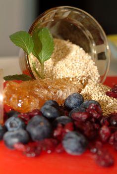Cooking Healthy Quinoa Germ