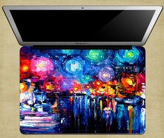 NDAD Beautiful Oil Painting Rose Macbook Pro Full Keyboard Vinyl Skin Decal Stickers for MacBook Pro with Retina Macbook Keyboard Stickers, Keyboard Cover, Macbook Pro 13, Retina Display, Beautiful Paintings, Decals, Artwork, Colorful, Oil