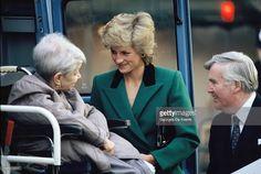 January 19 1989 Princess Diana visits Help the Aged…