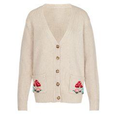 Knitwear | Mushroom Cardigan | CathKidston