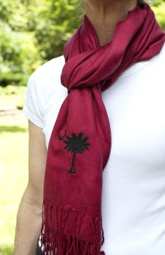 South Carolina Scarf Love!