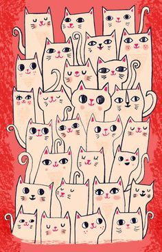 Resultado de imagem para dessin de chat pour la broderie