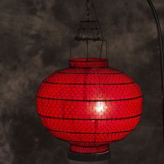 Round red lamp Cloth material makes it long lasting use Delicated handcraft artwork Oriental, Table Lamp, Traditional, Lighting, Artwork, Red, Home Decor, Table Lamps, Work Of Art