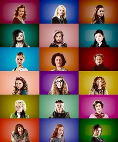 The Women of Harry Potter