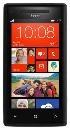 HTC Windows Phone 8X Unlocked GSM Smartphone with 8 MP Camera, 4.3-Inch Touchscreen, Dual-core 1.5 GHz, 16GB Memory, Wi-Fi and GPS No Warran... | ($249.99)