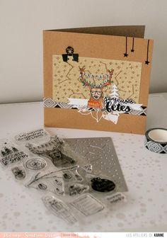 Cartes de vœux – DT carterie Les Ateliers de Karine