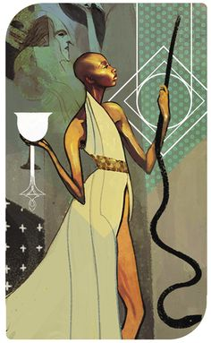 Dragon Age Inquisition Tarot - Vivienne