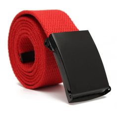 HuoGuo NEW Hot Canvas belt male cloth belt male pin buckle canvas strap jeans belt in the waist of trousers belt 5 Colors
