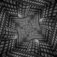These Architectural Illusion Photos Might Give You Vertigo | The Creators Project