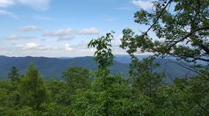 You can see forever from Tuscarora Overlook at Douthat State Park in Virginia