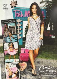 2011: Vanessa Hudgens for Candie's!