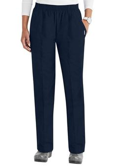 Women's Classic Tapered Leg Pant - Navy