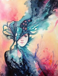 watercolor tattoo designs | 50 Mind Blowing Watercolor Paintings | Cuded