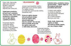 velikonoční básničky