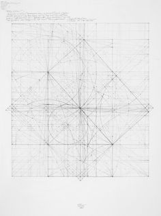 Square Series: Piston Effect, 12.10 2010 13 in. x 13in. (approximately) Graphite on cotton paper