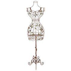Vintage Mannequin - Whimsical Dress Form Decor