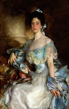 steelylaceribbon: 1903 John Singer Sargent (American; 1856-1925) ~ Portrait of Mrs. Abbott Lawrence Rotch