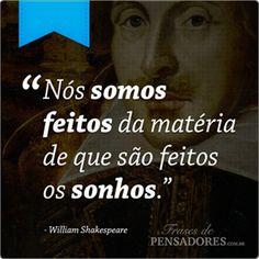 Frases de William Shakespeare                                                                                                                                                      Mais