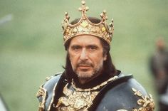 As King Richard in Looking For Richard