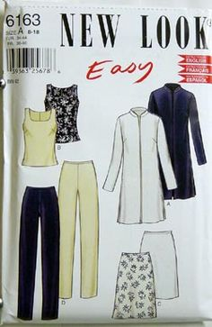 New Look Pattern -6163NEW $4.99