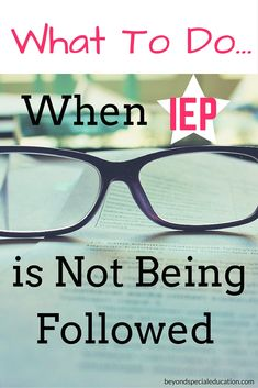Do you know if your child's IEP is being followed? Do you know what to do when it is not? Have you already discussed this at an IEP meeting? Learn what options you have as a special needs parent.