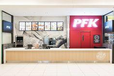 PFK Galerie de la Capitale : Aménagement intérieur en 4 semaines Construction, Flat Screen, Projects, Building, Blood Plasma