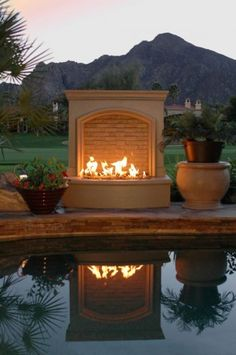 Outdoor Fire Place